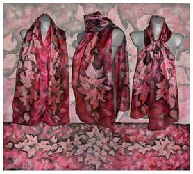 Red Leaves by JankaLateckova
