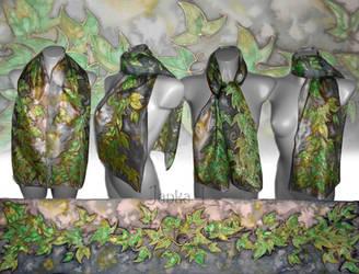 Green Leaves by JankaLateckova