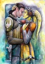 Hera and Kanan by JankaLateckova
