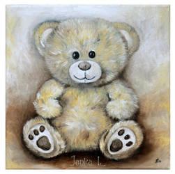 Teddy bear by JankaLateckova