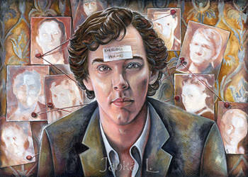Sherlock by JankaLateckova