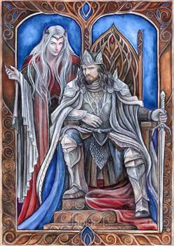 Sauron and Ar-Pharazon