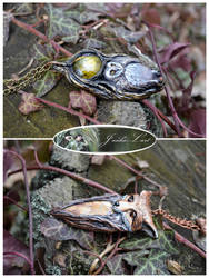 Nature inspired pendants 2