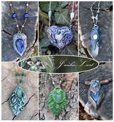 Elven pendants