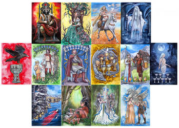 The Twilight of The Gods Tarot