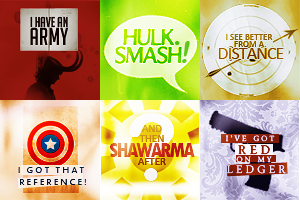.:Avengers:Quote Icons:. by RachelDinozzo