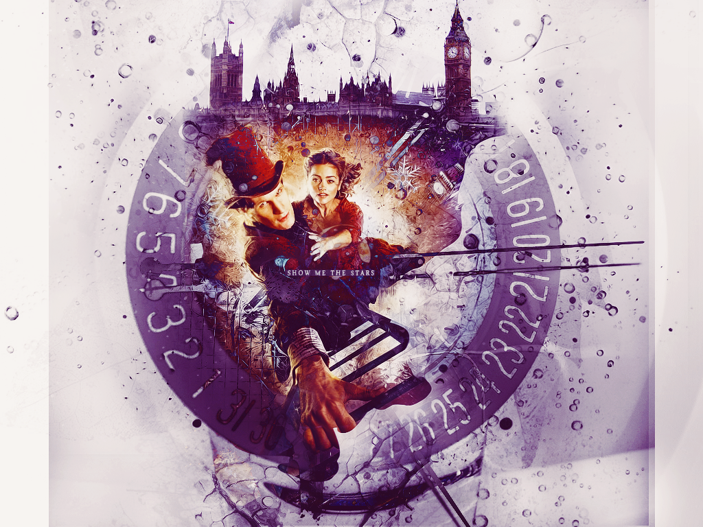 Wallpaper Dr Who Natale