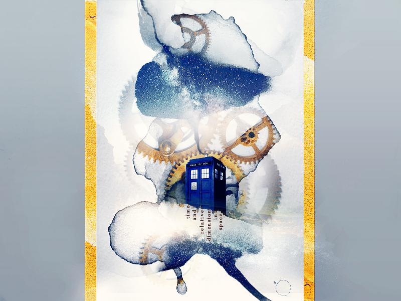 .:Doctor Who: TARDIS:. by RachelDinozzo