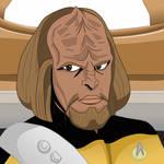Lt. Worf by AfistfullofDatas