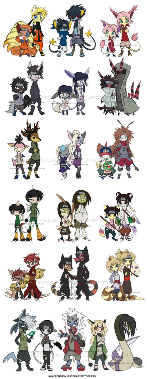 Narutokemon by FennecSilvestre