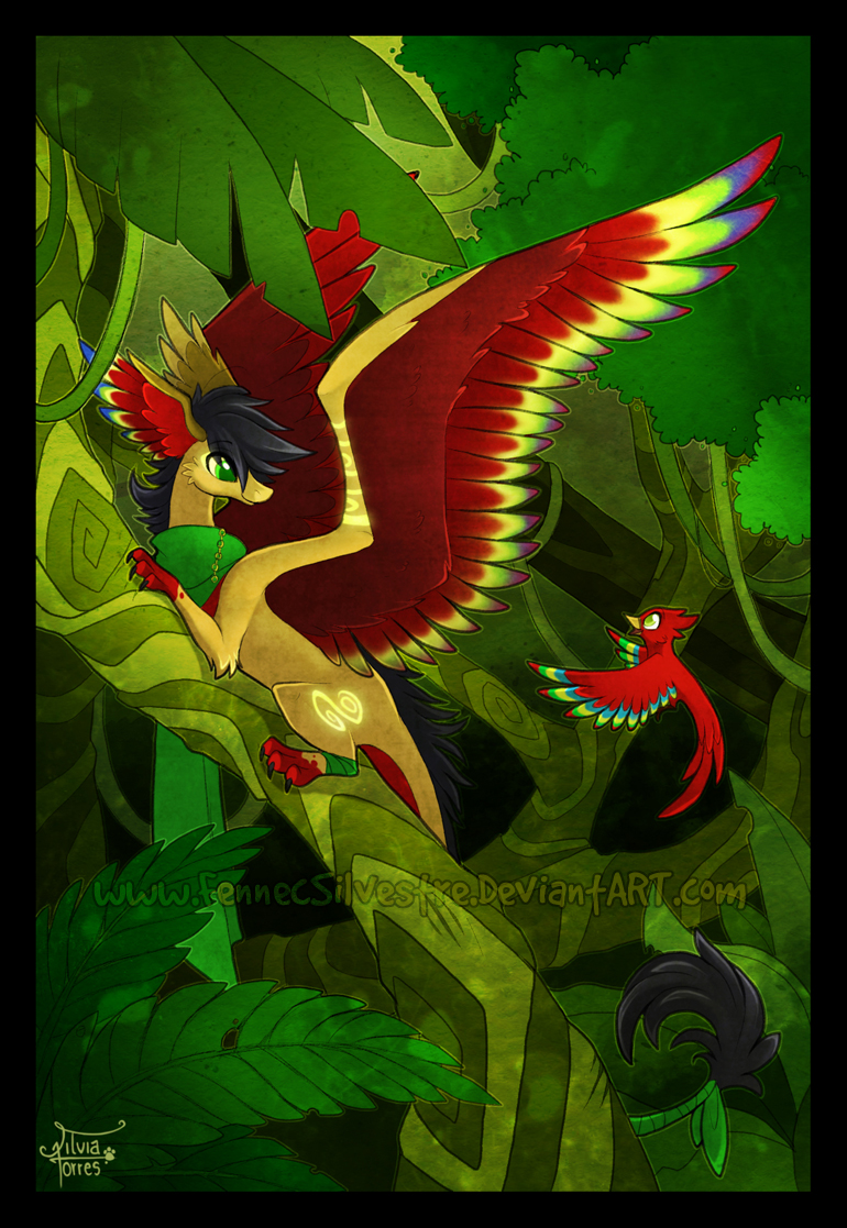 Deep Rainforest by FennecSilvestre