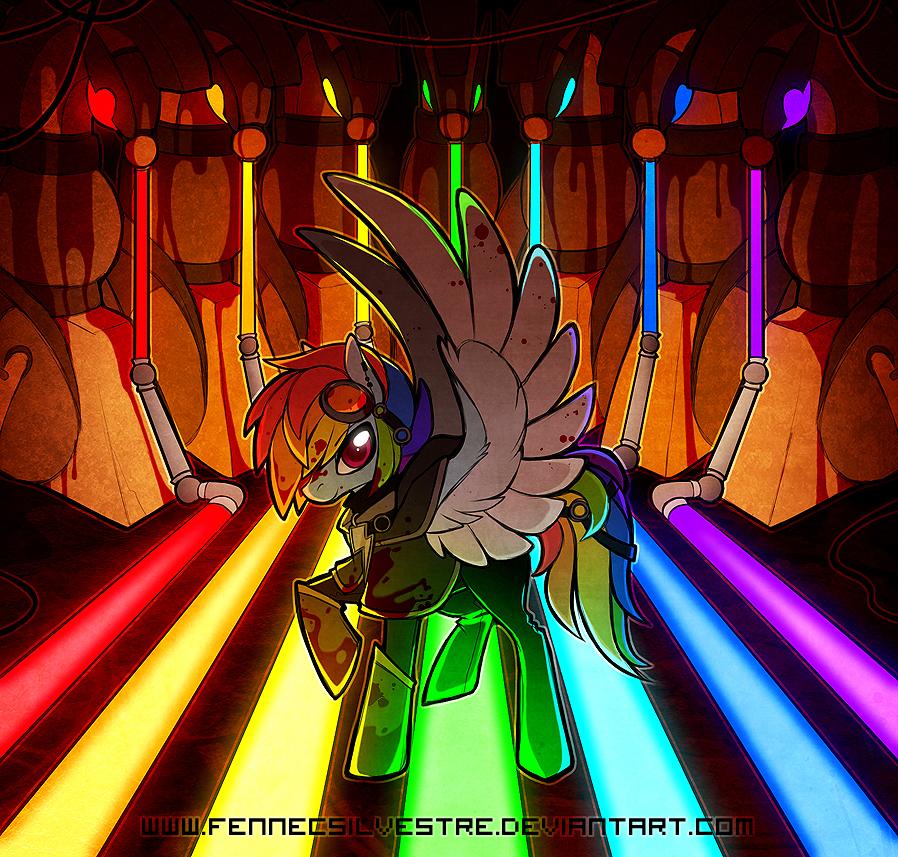 Rainbow Factory by FennecSilvestre