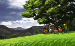 Suikoden 1 and 2 Sprite Fan-art