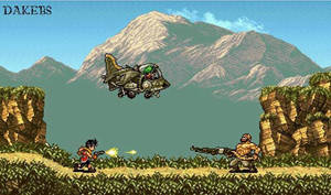 Suikoden 2 and Metal Slug Crossover