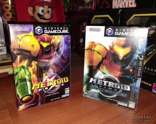 JP ver. of Metroid Prime 1 and 2 for the Gamecube