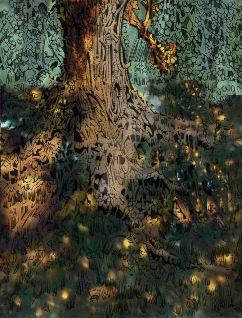 Fairy Tree WIP by Doctor-Sleepy