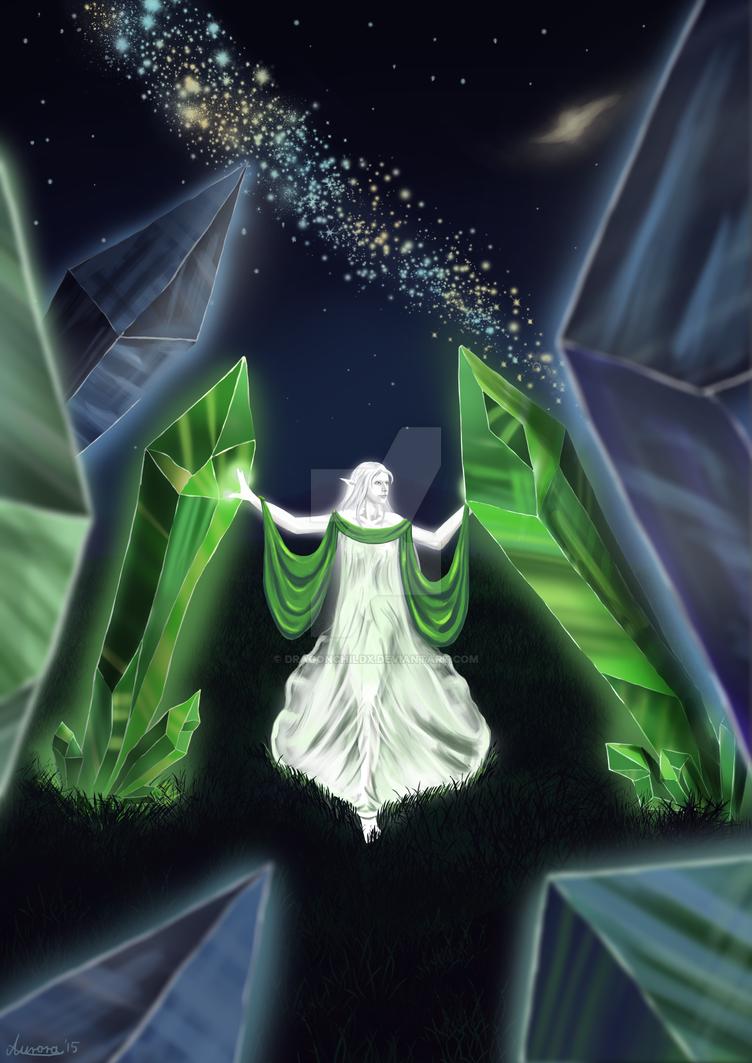 Art Trade: Gewalgon by DragonchildX