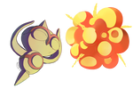 Baltoy used explosion! by DragonchildX