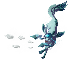 Glaceon Used Iceshard