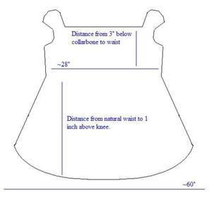 shirred dress pattern