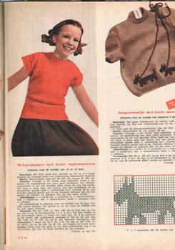 Children's clothes knitting