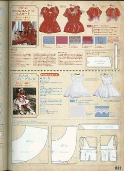 Kana lolita dress pattern