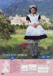 Innocent world apron pattern