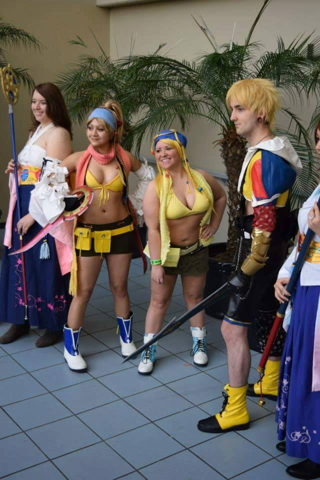 Final Fantasy X/X2 group by itgbae