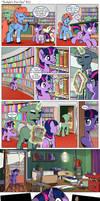 Comic: Twilight's first day #22 [Polish]