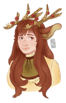 Juniper! (Canterwit Human Form) by nitore
