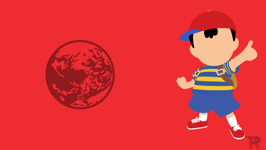 ness tru minimalist by turpinator77 on deviantart