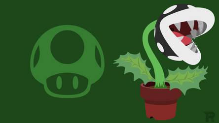 Smash Bros. Ultimate - Black Piranha Plant