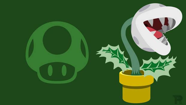Smash Bros. Ultimate - White Piranha Plant