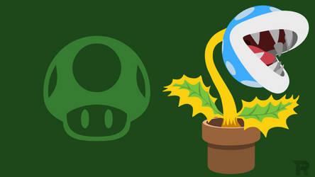 Smash Bros. Ultimate - Blue Piranha Plant