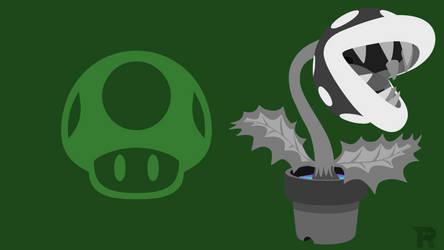 Smash Bros. Ultimate - Pale Piranha Plant