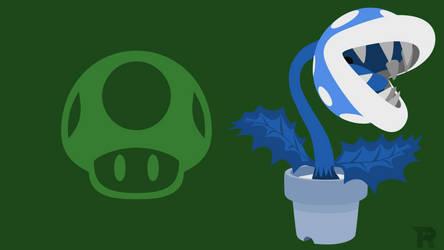 Smash Bros. Ultimate - Frost Piranha Plant