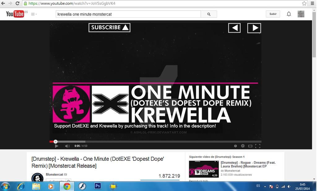 krewella- one minute-monstercar remix by AshLoL-friki on ...