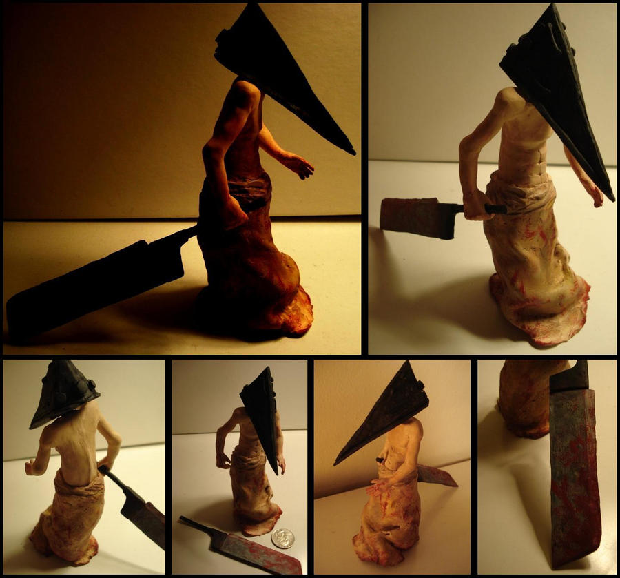 Pyramid Head Figure by tenpieces