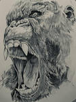 Skull Island - Pencil sketch