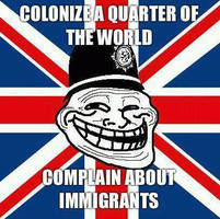 UK Immigration Troll by Valendale