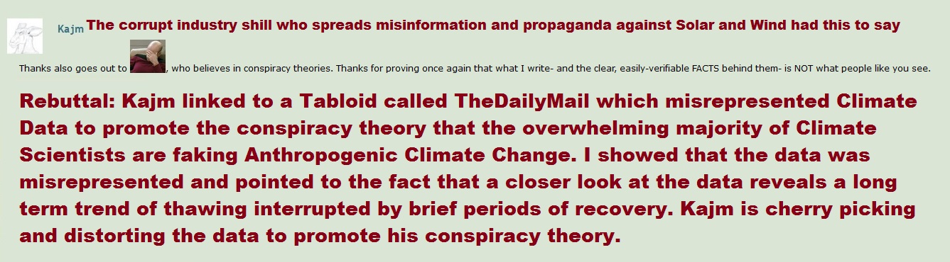 Kajm's Conspiracy Theory and Climate Denial by Valendale