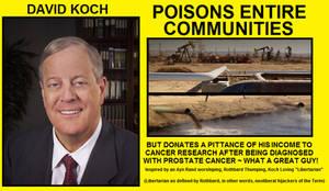David Koch - Charitable Psychopath by Valendale