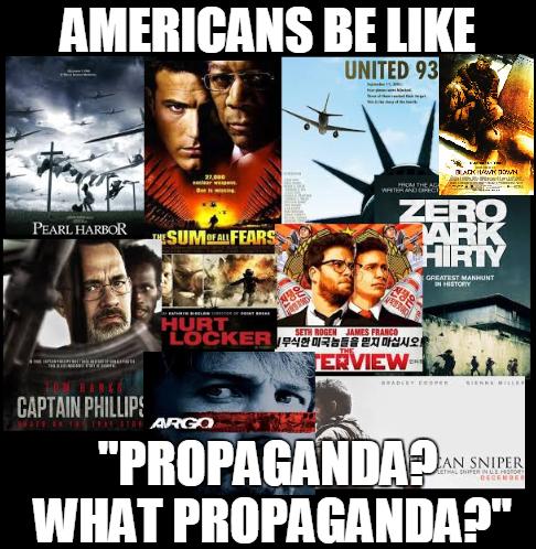 Americans be like 'Propaganda? What Propaganda?' by Valendale
