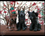 Wolf's Rain Ornaments