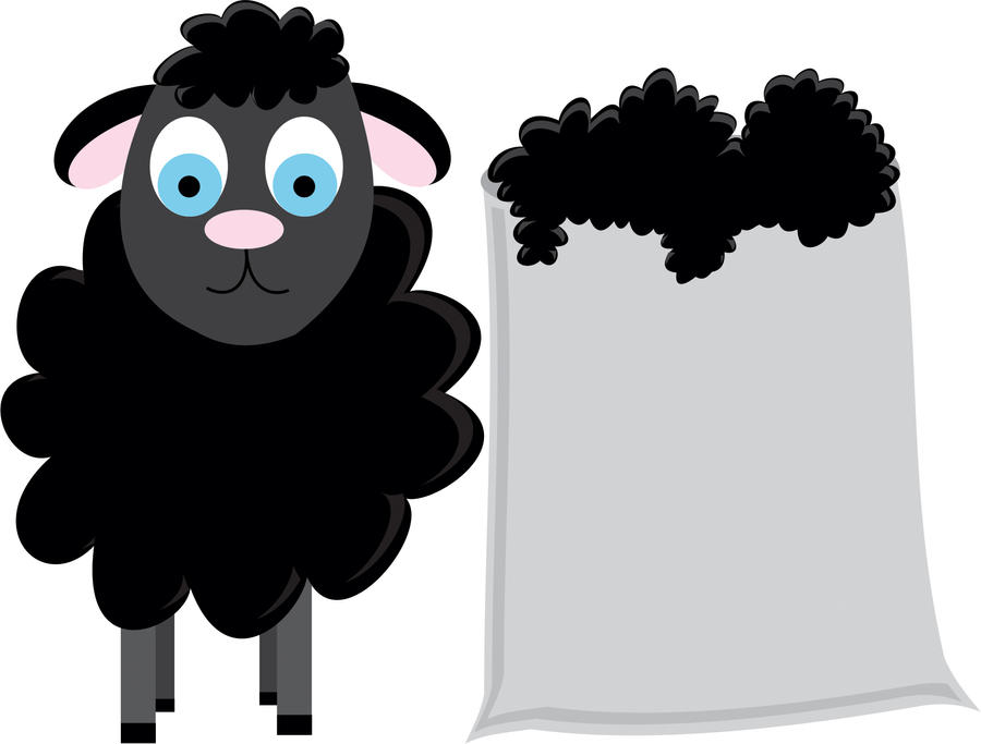ba ba black sheep by littlered9188 on deviantart rh littlered9188 deviantart com black faced sheep clipart black sheep clipart images
