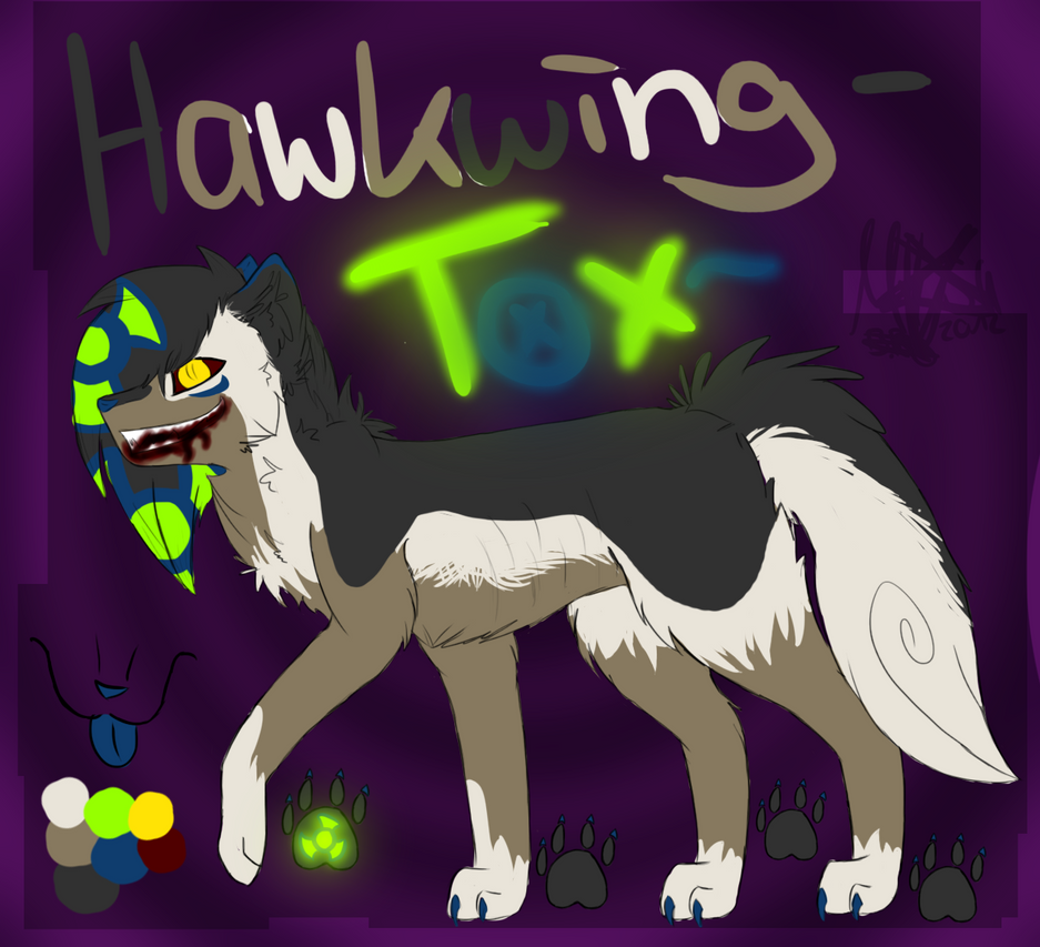 .:Hawkwing / Tox Ref:. by MysaTheUnknown