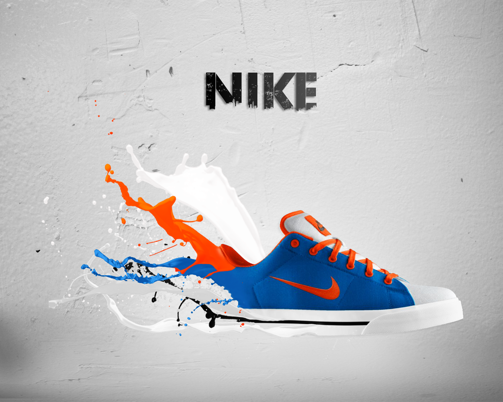 Running Nike Shoes Ad