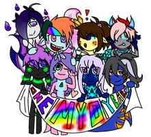 One Year Anniversary FREE MYO Special Event CLOSE! by TalesOfScreaming