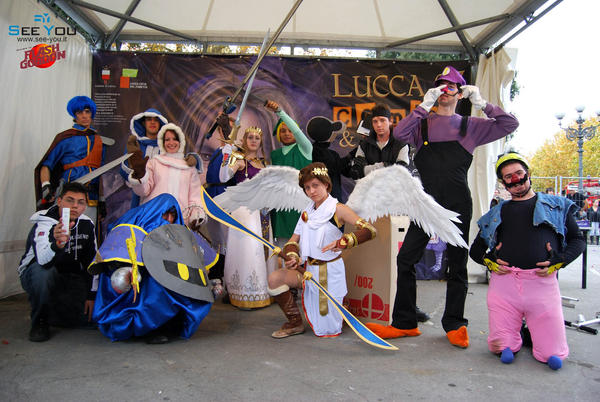 Super Smash Bros.Cosplay Group by CuteFoxy on DeviantArt