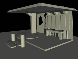 Tiki Playhouse WIP by KypFox